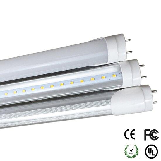 T8 светодиодный 4 Средства ухода за кожей Стоп лампа 18 Вт 4ft труб свет G13 1200 мм Замена люминесцентные приспособление AC85-265V Светодиодный трубки ... ...