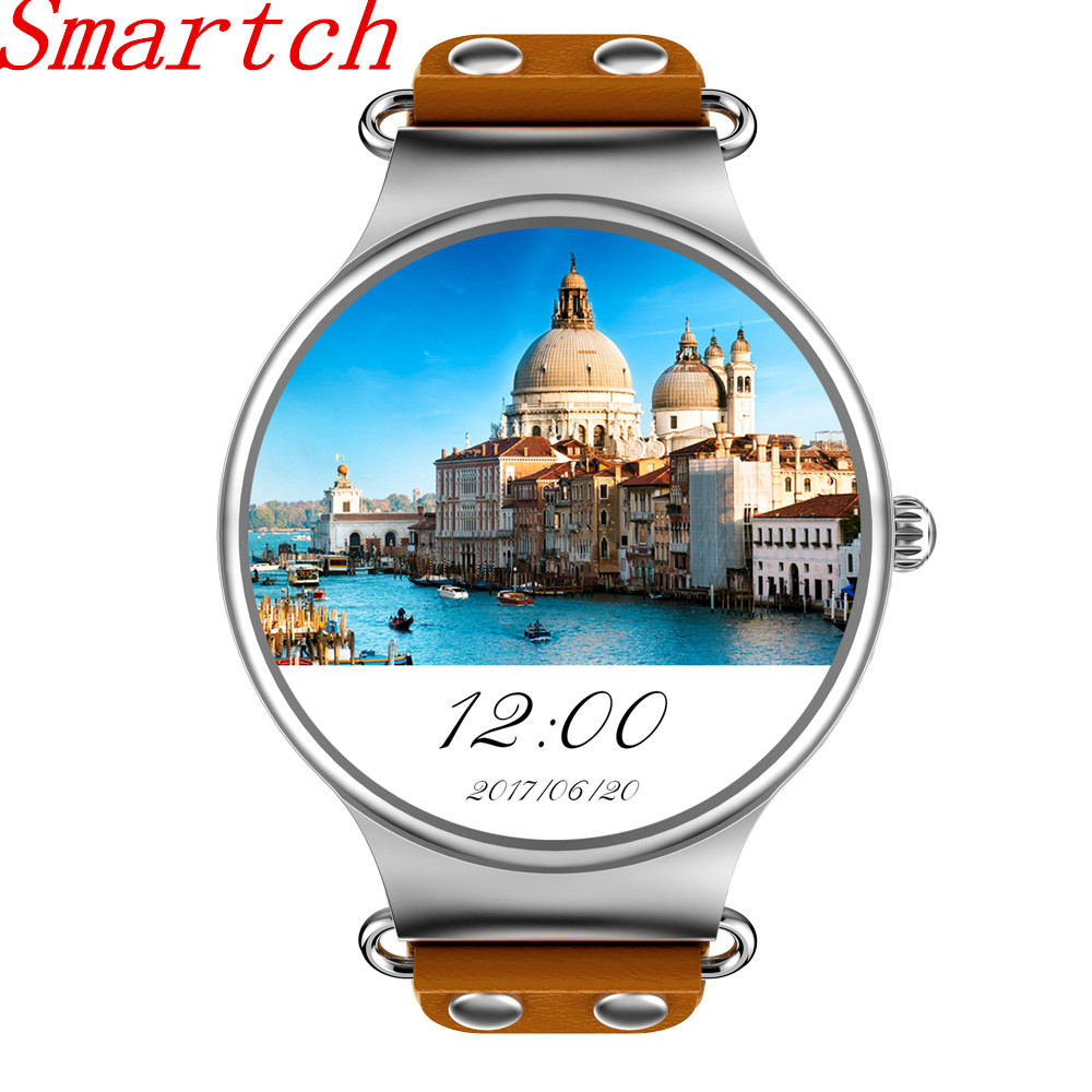 2017 KW98 SIM Smart Watch Android 5.1 3G WIFI GPS Watch MTK6580 Smartwatch iOS Android For Samsung Gear S3 Xiaomi PK KW88 KW99 цена 2017