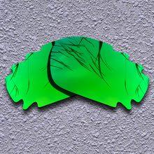 9d5e93f80c Lentes de repuesto polarizadas color verde esmeralda para gafas de sol con  ventilación Oakley Jawbone