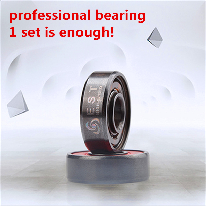 ABEC11 ILQ-11 Professional High Speed Inline Roller Skates Bearing 608 608RS PRO Skating Bearing Chrome Better ABEC-9 ILQ-9 EST