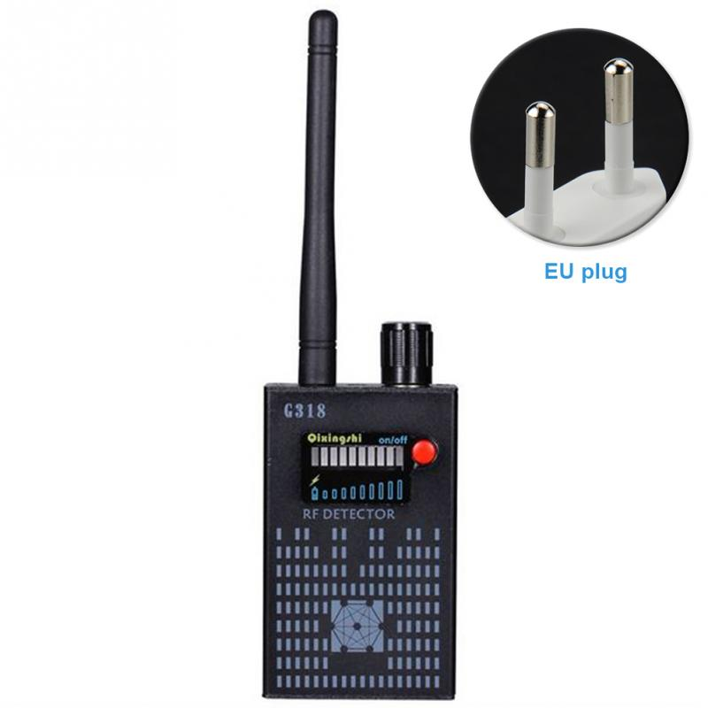 Anti Wireless Camera Detector Multi-functional Full-range RF 2G 3G 4G Bug Finder Radio Detection G318