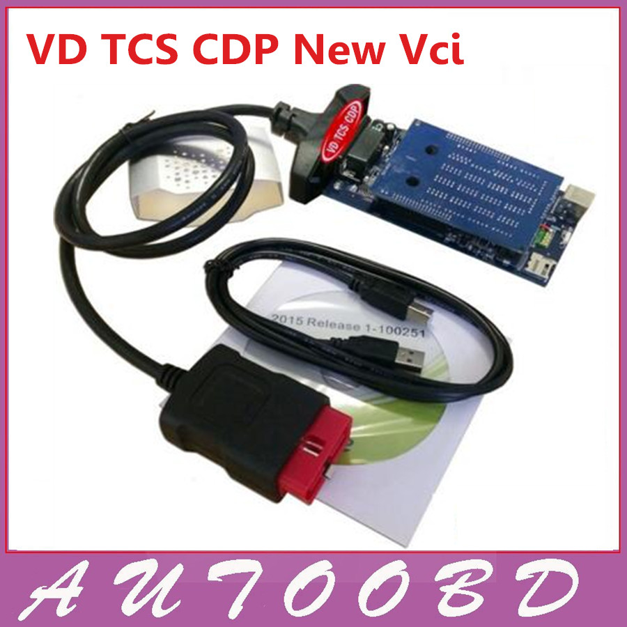 New Vci 2014R2/2015R3/2015R1 Without Bluetooth VD TCS CDP with LED Cable for Multibrand Vehicles AS Multidiag pro tcs cdp MVDiag new arrival new vci cdp with best chip pcb board 3 0 version vd tcs cdp pro plus bluetooth for obd2 obdii cars and trucks