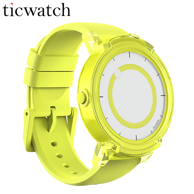 Original Ticwatch E Smartwatch Android Wear 2.0 Bluetooth 4.1 MTK2601 Dual Core for iOS/Android IP67 Dust proof Water Resistant