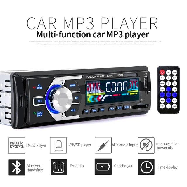 1066bt 2 5 inch 1 din car radio audio stereo usb aux fm station1066bt 2 5 inch 1 din car radio audio stereo usb aux fm station bluetooth 12v car