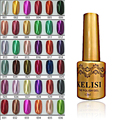 Hot 12ml 1-18 Metallic Colors Gel Nail Polish Soak Off Gel Varnishes Shinny Gel Polish Nail Art Top Manicure Tools # 16576