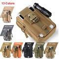 Tactical Molle Bolsa Cinturón Riñonera Bolsa Riñonera Militar Pocket Teléfono casos para samsung galaxy s5 s6 iphone 6 s 7 más lg g4