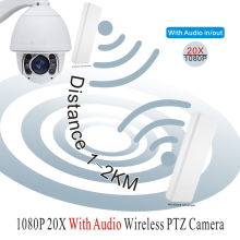 WiFi outdoor 20X optical zoom HD 1080P 2MP Surveillance Camera IR support wiper/audio wireless PTZ speed Dome CCTV