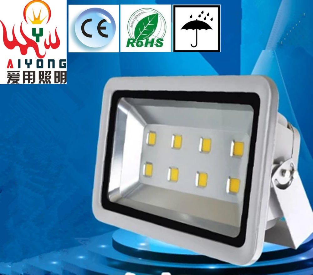 Highlight 300W led floodlights waterproof outdoor lighting pole lamp power 400W LED Flood Light Stadium lights free shipping