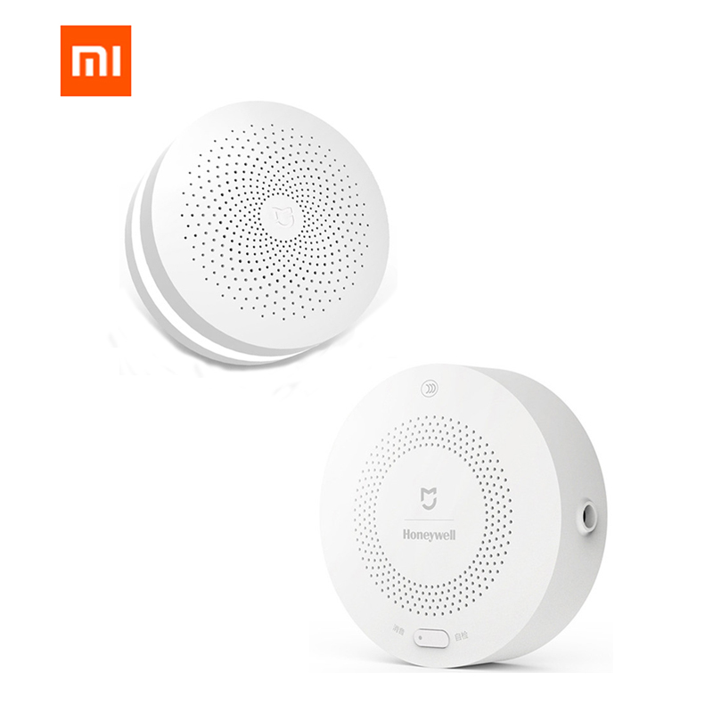 Xiaomi Mijia Smart Gas Alarm Original Honeywell Gas Detector Smoke Sensor CH4 Gas Monitoring Ceiling Mihome APP Remote Control