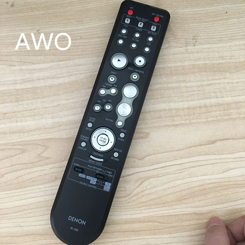 1pcs New original DENON RC-1099 FIT AVR889 AVR1909 AVR2309CI DHT789BA RC-1051 RC-1049 And other HDMI DTS remote controller саундбар denon dht s514 black