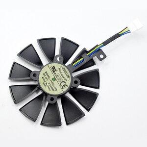 Image 3 - For ASUS Strix GTX 1060 OC 1070 1080 GTX 1080Ti RX 480 T129215SU 87MM Graphics Card Cooler Fan