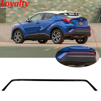 Loyalty for Toyota C-HR CHR 2016 2017 2018 Upper Rear Bumper Rear Guard Board Trim Black ABS Car Accessories Auto Styling