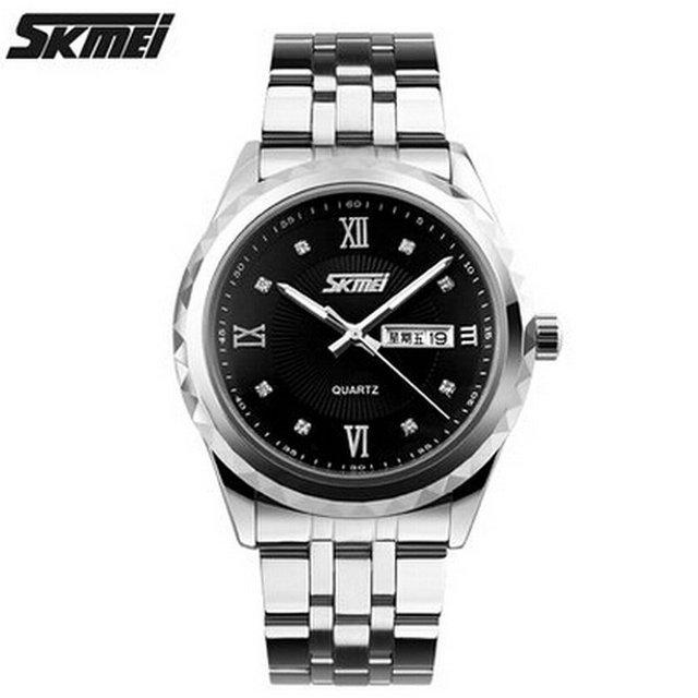 O preço do movimento do relógio de quartzo homens relógios moldura japão movt Luxo Relojes montre femme Casal dos Amantes à prova d' água Sem Chama