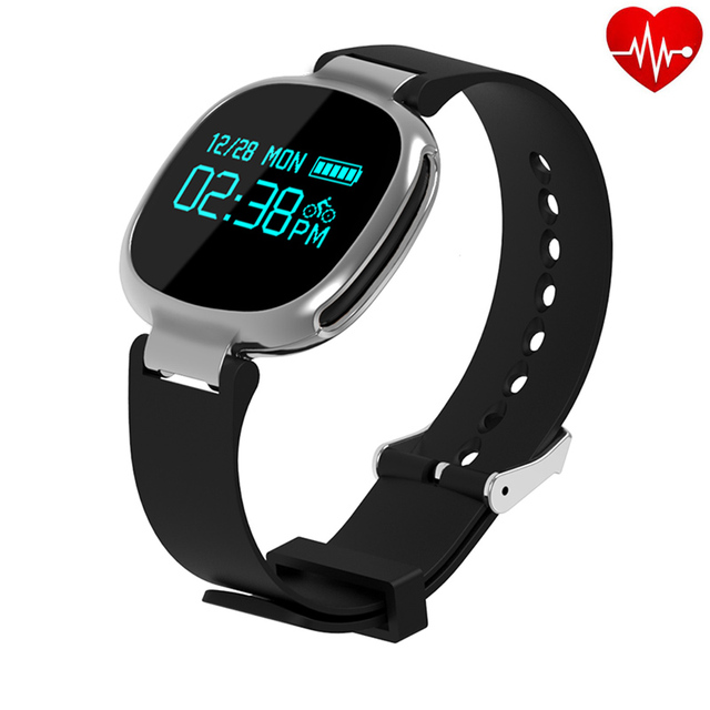 E08 Swimming Smart Band Heart Rate Monitor Smartband Waterproof Pedometer Tracker Fitness Bracelet Riding Mode For iOS Android