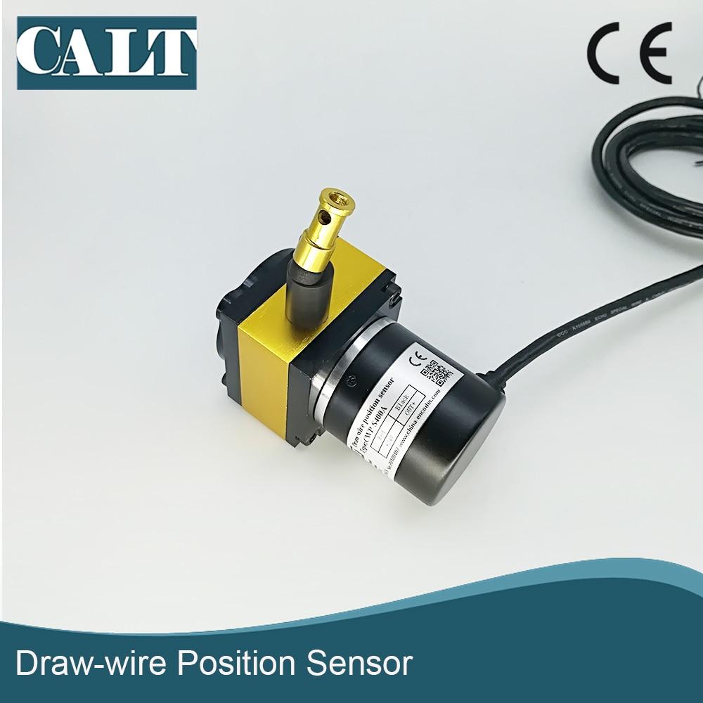 400mm Stroke Range linear position string pots displacement sensor wire potentiometer transducer for distance measure
