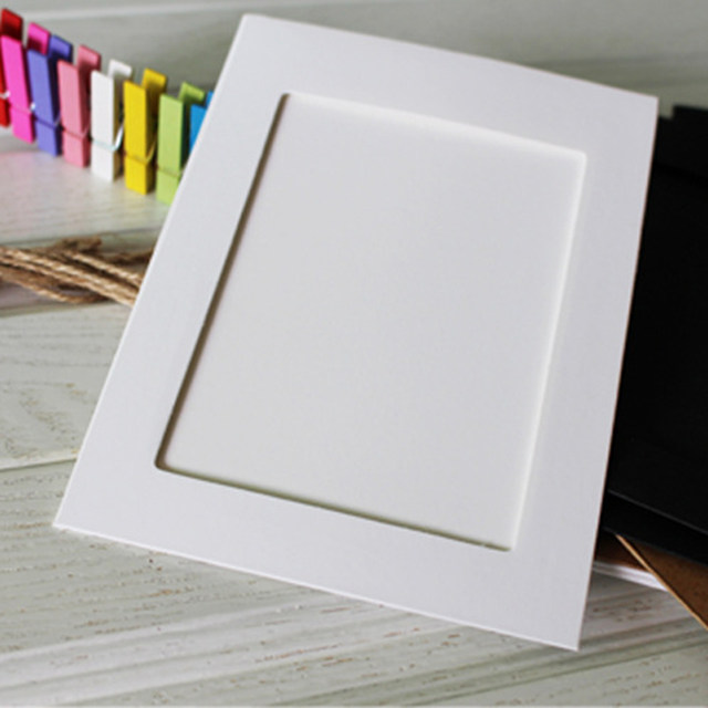 Online Shop High Quality 10Pcs 6Inch Beautiful Paper Photo Frames ...