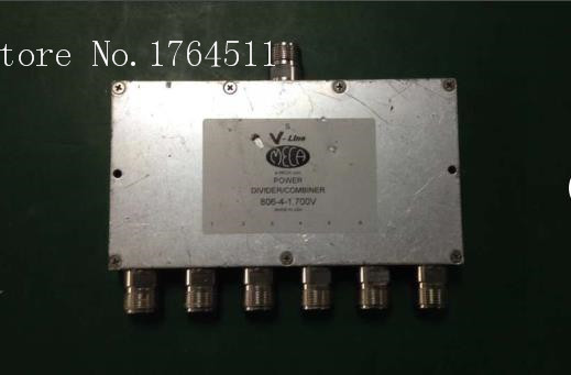 [BELLA] MECA 806-4-1.700V A Six 0.698-2.7GHZ RF Power Divider N