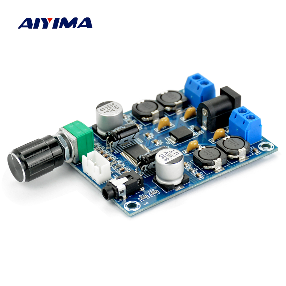 Aiyima TPA3118D2 Digital Amplifier Board Amplificador Dual Channel Audio Amplifier Board 45W*2 For 4-8ohm Speaker Amp DIY