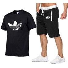 8d216aec99b Le plus récent t-shirt à manches courtes col rond hommes mode doodle  imprimé coton