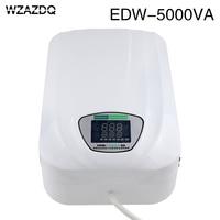 Edw 5000v ac voltage stabilizer 220v fully automatic household single phase
