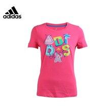 Adidas Women's T Shirt Running T-Shirts Sports Training Shirt #A96869