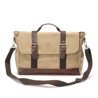 Bag Washed Canvas Bags Messenger Bag Canvas Crossbody Man Shoulder Bags Male Sacoche Homme M011