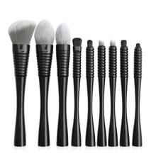 9PCS Makeup Brushes Set Kits Powder Foundation Brush Eyeshadow Tool with Storage Bag(China)