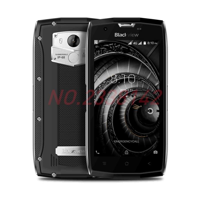 Original Blackview <font><b>BV7000</b></font> Pro смартфон 4 г Водонепроницаемый <font><b>IP68</b></font> 5.0 &#171;FHD MT6750T Octa core Android 6.0 4 ГБ + 64 ГБ 13MP мобильного телефона