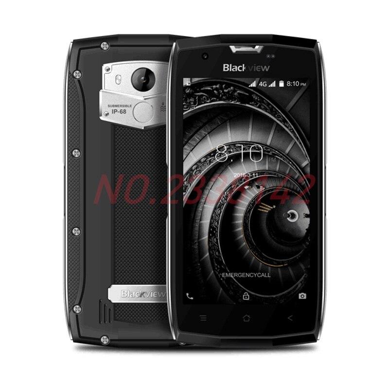 Origine Blackview BV7000 Pro Smartphone 4g Étanche IP68 5.0 FHD MT6750T Octa base Android 6.0 4 gb + 64 gb 13MP Mobile Téléphone