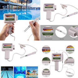 Новый PH Тестер измеритель уровня хлора для бассейна, спа измерения качества воды контрольная панель