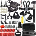 Outdoors Dog Accessories Set Kit Dog Accessories Mount for Gopro hero HD 5 4/3/2/1 SJCAM SJ4000 SJ5000 SJ6000 H9R H9 H9SE