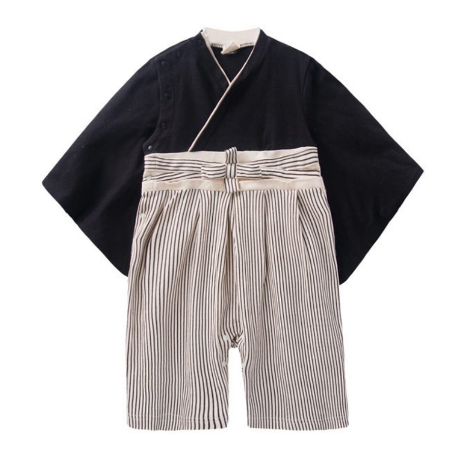 Newborn Baby Rompers Fashion Cute Japanese Kimono Cotton Long Sleeve Children Costume Kids Boys Clothes