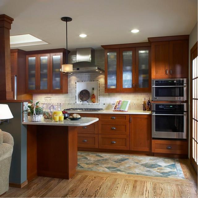 2017 mobili da cucina in legno tradizionale tipo di mobili da cucina ...