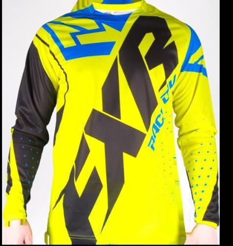 FXR BMX Off-Road Long Sleeve Moto GP Racing Jersey 4