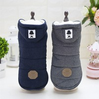 Mustache Hooded Style Pet Dog Thick Winter Coat Clothes From S To XXL Free Shipping By