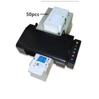 CD/DVD Disc Printing Machine Multifunctional and Economic CD/DVD/PVC Card Printers with 50pcs CD/PVC Tray