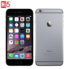 Разблокирована Apple iPhone 6 Стандартный/Добавить стекло мобильный телефон 4,7 дюймов Dual Core 16 г/64 г/128 ГБ Встроенная память IOS 8MP камера 4 к видео LTE