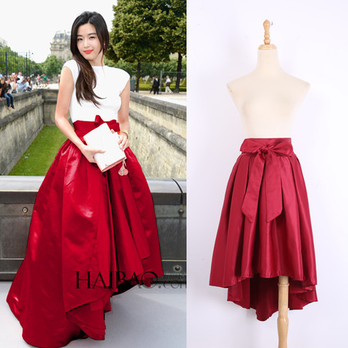 Online Shop Women Summer Fashion Celebrity Runway Maxi Skirt ...