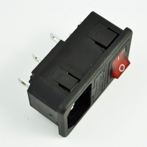 Image 5 - Inlet Male Power Socket with Fuse Switch 10A 250V 3 Pin IEC320 C14  widely in lab equipment, medical devices, fitness equipment