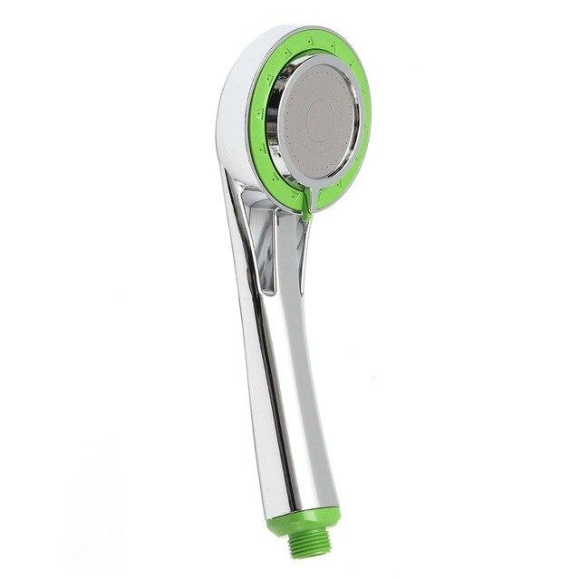 3 Modes ABS Bathroom Water Saving Shower Head Handheld Chrome ...