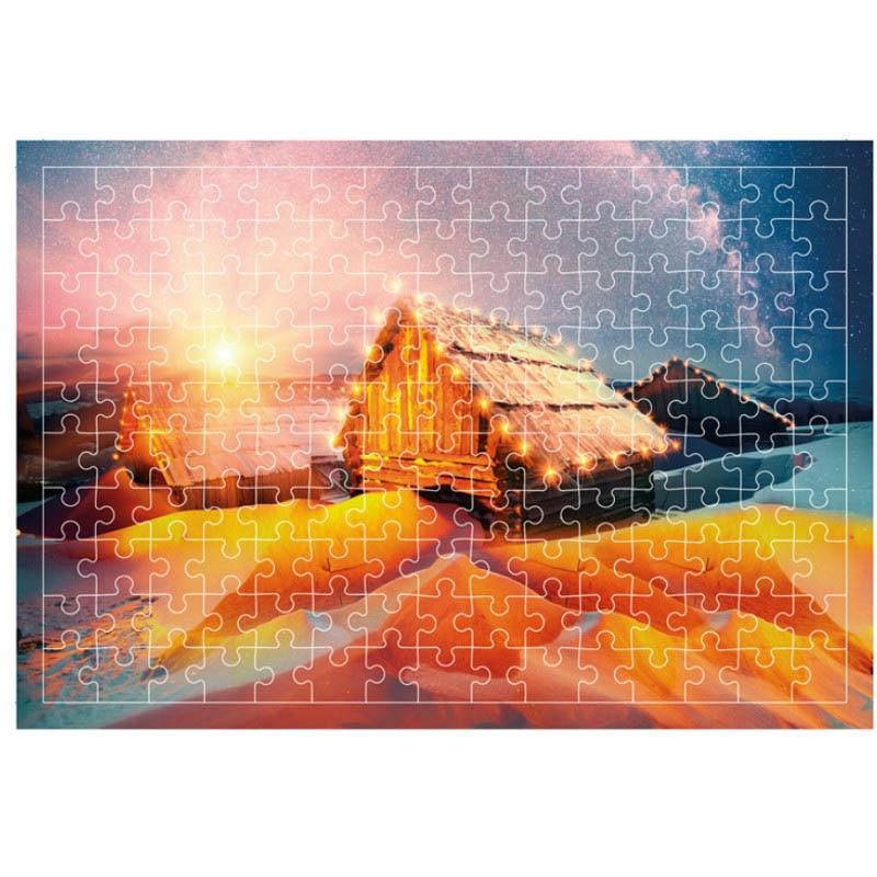 Dekompresijske igračke 3D papirne zagonetke 1000 komada za odrasle - Igre i zagonetke - Foto 5