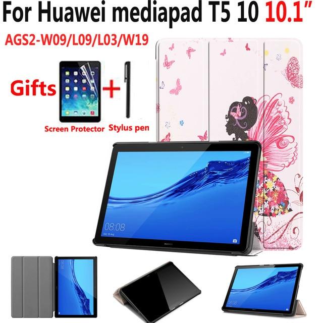 Ultra Slim Case For Huawei Mediapad T5 10 AGS2-W09/L09/L03/W19 10.1
