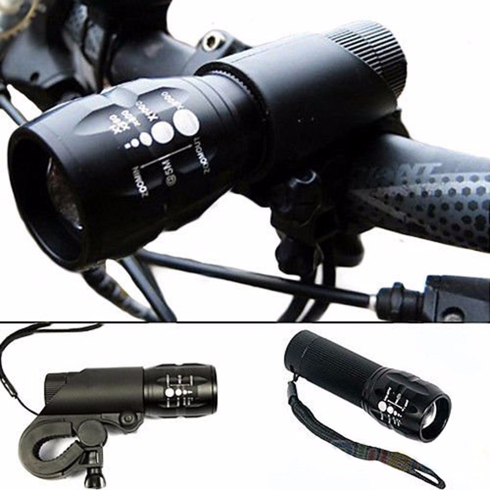<font><b>Bicycle</b></font> <font><b>Light</b></font> 240 Lumens 3 Modes <font><b>Bike</b></font> <font><b>Headlight</b></font> Q5 LED <font><b>cycling</b></font> Front <font><b>Light</b></font> <font><b>Torch</b></font> <font><b>Lamp</b></font> With <font><b>Torch</b></font> Holder Waterproof Flashlight image
