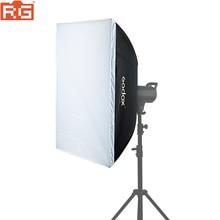 Boîte souple Godox 60*60/60*90/90*90/70*100/80*120 boîte souple rectangulaire Portable avec boîte souple en nid dabeille en option