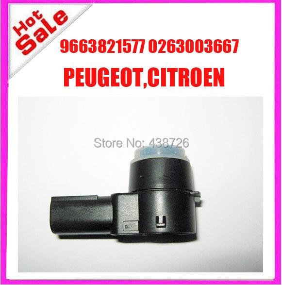 9663821577  6590A5 6590.A5    PDC  SENSOR  park  sensor    for  PEUGEOT 307 308 407