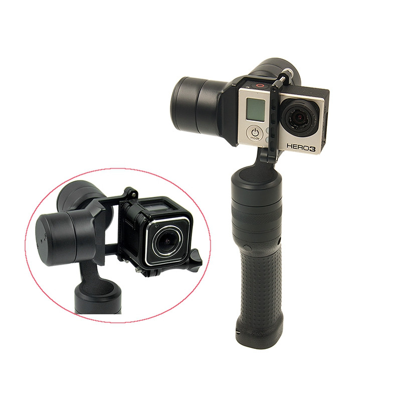 High Quality iSteady GG2 3-Axis Handheld Gimbal Camera Stabilizer Support For GoPro 3/3+/4/5 Xiaoyi AEE SJCam [hk stock][official international version] xiaoyi yi 3 axis handheld gimbal stabilizer yi 4k action camera kit ambarella a9se75 sony imx377 12mp 155‎ degree 1400mah eis ldc sport camera black