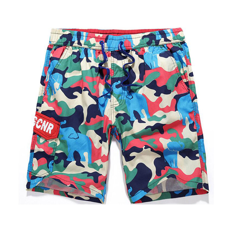 Male Cotton Camouflage Surf   Board     Shorts   Men Swimwear Loose Outdoor Beach   Shorts   Swimming Trunks Mens Cargo Workout   Shorts   XXXL