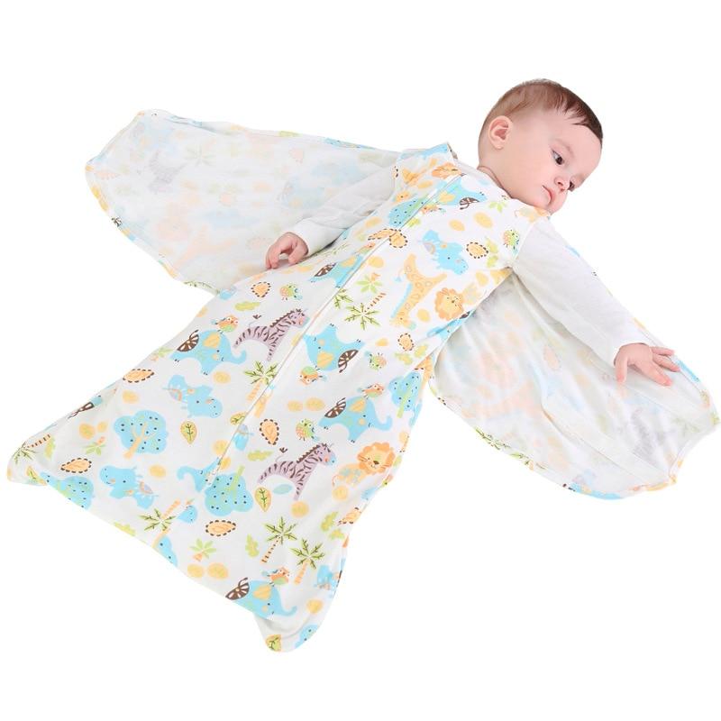 """תינוק שק שינה חתול יילוד כותנה המעטפת Sleepsacks ילד רך מעטפה תינוק חיתול בד עטוף 66 ס""""מ"""