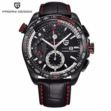 Original PAGANI DESIGN Chronograph Sport Watches Japan Movement Stainless Steel Case Waterproof Quartz Watch Relogio Masculino