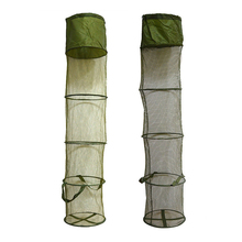 5 Layers Collapsible Fishing Basket Dip Net Cage To Keep Fish Alive In The Water 30cm*140cm Accessories Tool